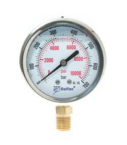 Manómetro de alta presión 0- 700 bar